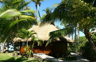 Beachfront accommodation, Beach Bungalows, Le Maitai Bora Bora
