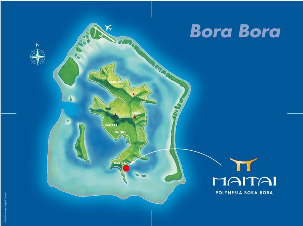 Our Bora Bora French Polynesia Location Maitai Bora Bora French Polynesi