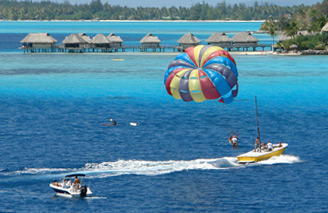 Enjoy watersports in an unforgettable location